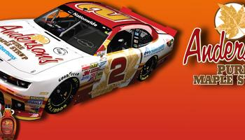 Anderson's Maple Syrup Joins RCR's #2 NNS Team, Driven by Brian Scott, as Primary Sponsor for Two Races in 2014 [RCR]