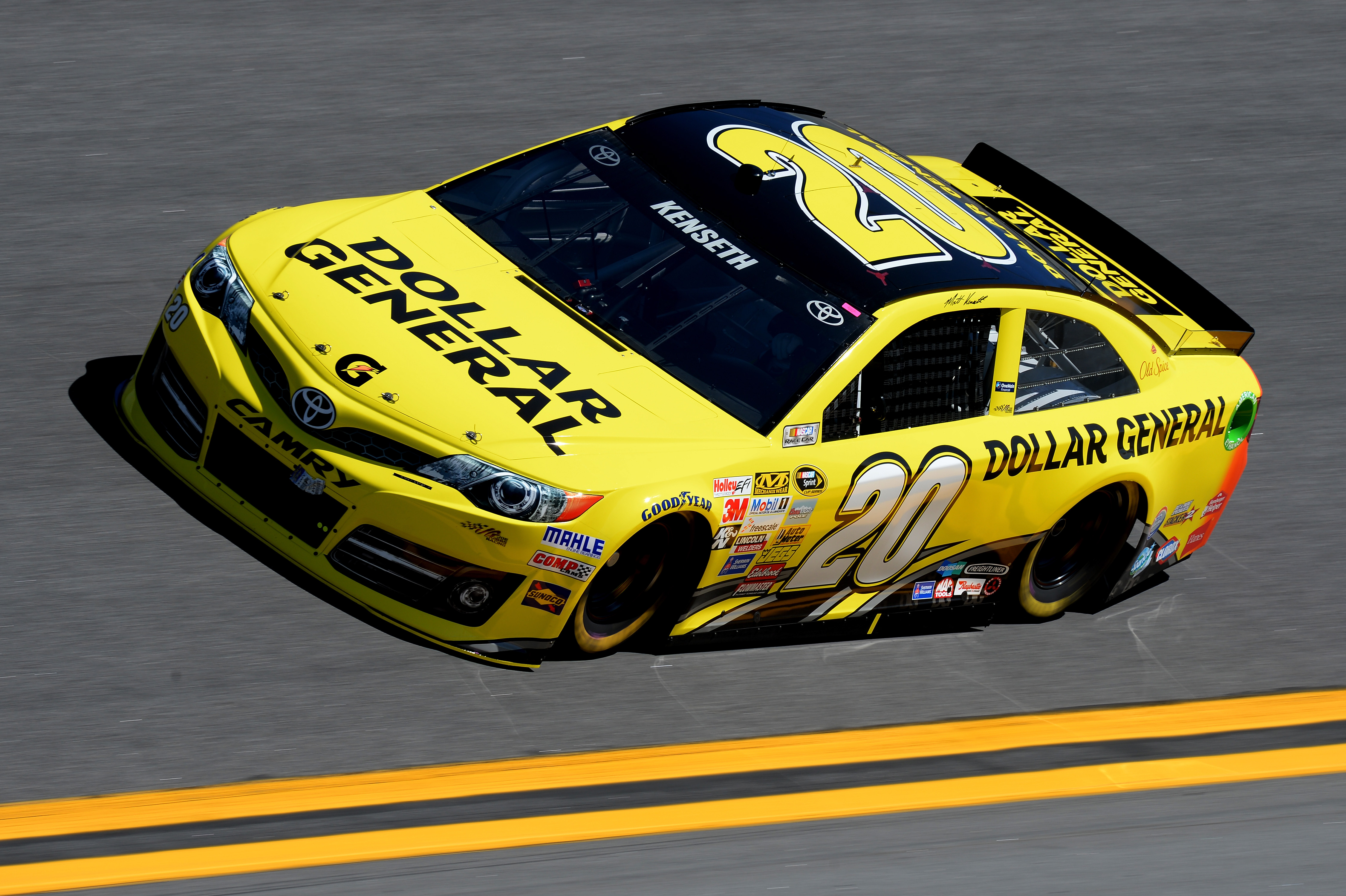around the track joe gibbs racing dollar general. Black Bedroom Furniture Sets. Home Design Ideas