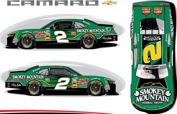 Smokey Mountain Herbal Snuff Paint Nationwide Paint Scheme [RCR]